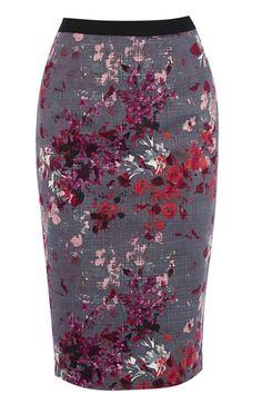 floral pencil skirt Womens Fashion Unique Style Inspiration Urban Apparel #UNIQUE_WOMENS_FASHION