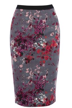 floral pencil skirt Womens Fashion Unique Style Inspiration Urban Apparel #UNIQUE_WOMENS_FASHION
