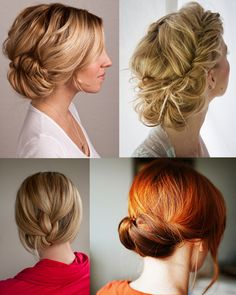 Pretty Hairstyles, Wedding Hairstyles, Elegant Hairstyles, Formal Hairstyles, Locks, Braided Updo, Low Updo, Great Hair, Awesome Hair