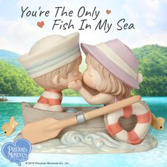 Remember that first, heavenly kiss? When you just knew that you were with the love of your life? Celebrate all of it - the day you met, your first kiss, your second date and your third grandchild. Treasure your greatest catch, each and every day!