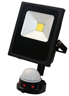 Low energy 10w led floodlight with quality configurable pir sensor low energy 10w led floodlight with quality configurable pir sensor max living floodlight with pir sensor pinterest aloadofball Images