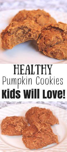 Easy Gluten Free Breakfast Pumpkin Cookies kids will love. Try this easy recipe for breakfast today. It is a winner.