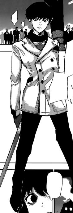 (Tokyo Ghoul RE) - Urie Kuki