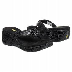 d834fb5d551 Volatile Jessa Croco Pre Grd Sandals (Black) - Kids  Sandals - M. Wilson  Denis · Trail Running Shoes