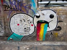 Graffiti, Street Art, #WhiteMaqui