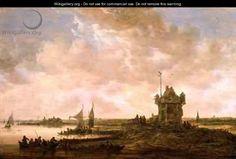 Jan van Goyen - Dutch Landscape