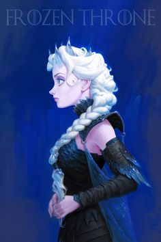 I know hardly anything about Game of Thrones, but this is extremely cool fanart.