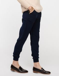 Outsider Pants In Navy