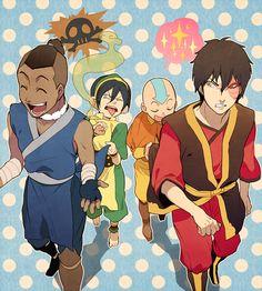 Avatar: The Last Airbender (The Legend of Korra) Avatar Aang, Avatar Legend Of Aang, Team Avatar, Legend Of Korra, The Last Airbender Anime, Avatar Airbender, Blade Runner, The Last Avatar, Avatar World