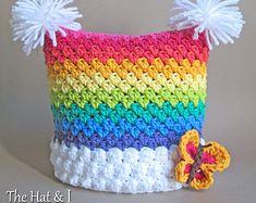 CROCHET PATTERN Be Mine crochet heart hat pattern by TheHatandI