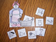 Mrs. Wishy Washy Activities (from Making Learning Fun)