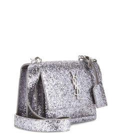 Sunset Medium silver-tone shoulder bag