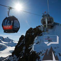 Herrliche Aussichten: Pitztaler Gletscherbahn - Wildspitzbahn #tirolgletscher.com ©Pitztaler Gletscherbahn - Daniel Zangerl #pitztalergletscherbahn #mountaintalk #potd #photooftheday