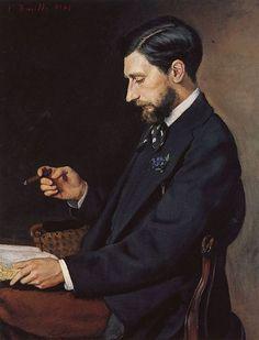 Bazille, Frédéric - Portrait d'Edmond Maitre