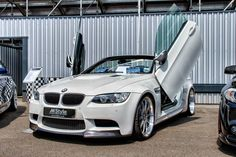 M Style BMW E93 M3 with LSD 'lambo' doors