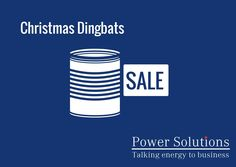 Power Solutions UK - Christmas Dingbat no 11
