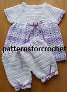 Ravelry: PFC18 Angel Top & Pants Baby Crochet Pattern pattern by Patternsfor Designs
