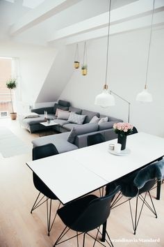 The White Room - Christina & Ulrich's Østerbro Apartment - Interiors - Dining Table | Scandinavia Standard