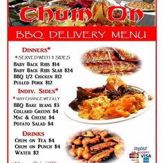 Get your destination party booked! Help our Campaign https://www.gofundme.com/chumonbbq