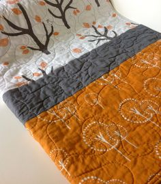 Baby or Toddler Quilt Gender Neutral Modern Lotta by CoolSpool, $85.00