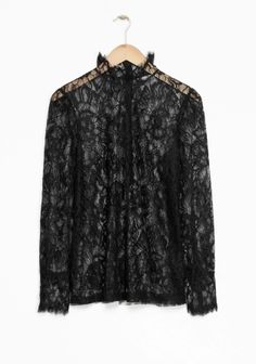 & Other Stories | Lace Blouse