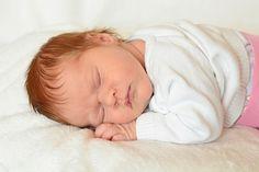 Female baby sleeping