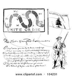 104231-Royalty-Free-RF-Clipart-Illustration-Of-A-Digital-Collage-Of-Revolutionary-War-Items.jpg (450×470)