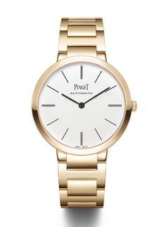 La montre Altiplano automatique de Piaget http://www.vogue.fr/joaillerie/a-voir/diaporama/horlogerie-les-belles-montres-du-sihh-2015/21923/image/1138728#!la-montre-altiplano-automatique-de-piaget