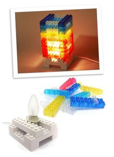 DIY Lego Inspired Block Tower Light – Crass Lighting Aimed At Lego Hippies