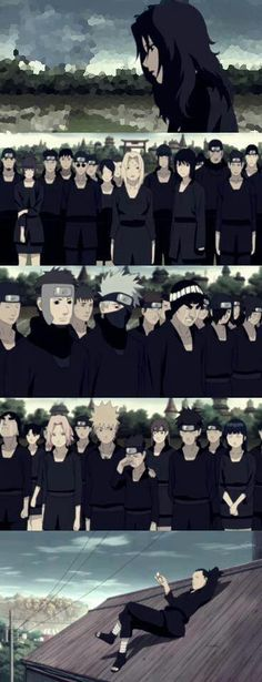 Sad moment... Asuma Sensei!