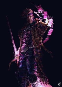 Gambit by yesdanel on DeviantArt Gambit Marvel, Gambit X Men, Rogue Gambit, Marvel X, Marvel Heroes, Gambit Wallpaper, Marvel Wallpaper, Marvel Comic Universe, Comics Universe
