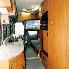 Sportsmobile Custom Camper Vans - TV Options