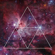 Triangle Nebula Galaxy Design  by Nathan Southard