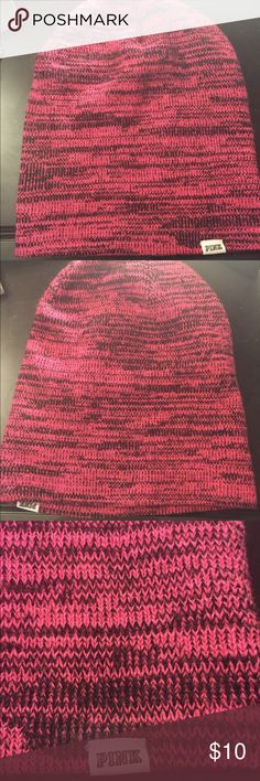 VS Pink Beanie Pink beanie by VS pink  •Perfect for fall and winter •Never worn PINK Accessories Hats