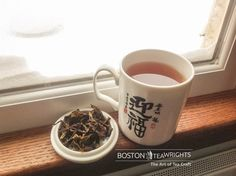 This is how you survive Snowragnarök. Crafted this black tea using Niligiri leaves a while back. Just steeped it this afternoon and it's got a brisk flavor with a bit of breadiness. Strong. Love it! Happy snowday everyone!