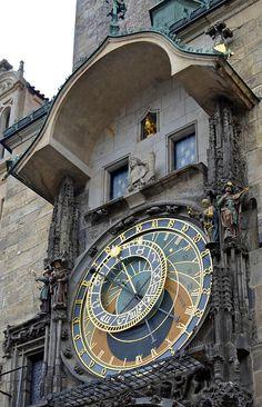 Astrological clock, Prague, Czech Republic