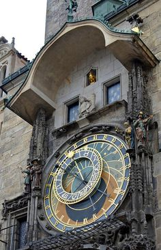 The Astrological Clock in Prague