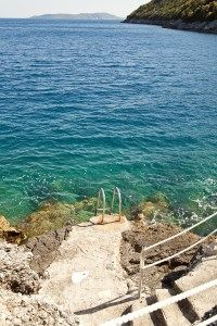 Nerina at Dolphin Point - villa with pool and direct sea access on Lefkada, the Ionian Islands
