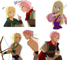 I WOULD WATCH THE SHIT OUT OF THIS MOVIE!!!!!!!!! Nalu: Mulan AU by NanakoBlaze