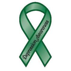 awareness ribbons   depression awareness ribbon