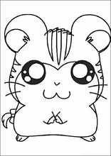 Dibujos para colorear Hamtaro