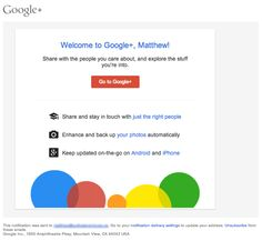 Welcome-Email-from-Google-Plus