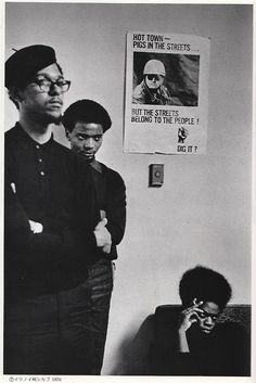 Black Panther Party, Chicago, 1969.