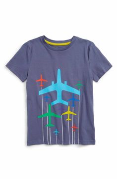 Main Image - Mini Boden Travel Graphic T-Shirt (Toddler Boys, Little Boys & Big Boys)