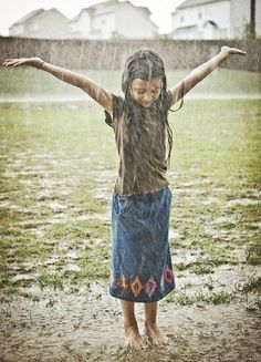 i've done this since i was a little girl and will do it til i'm a little old lady, i LOVE the rain!!!