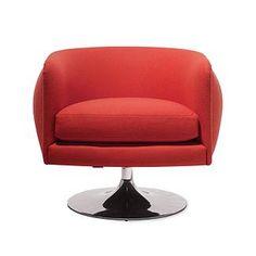 D'Urso Swivel Lounge $1765.00 #chair #seating