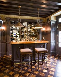 Coolest Home Bars