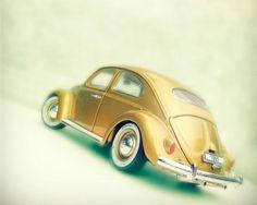 VW gold beetle oval window