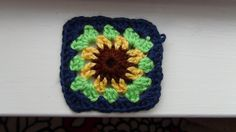 How to Crochet a Granny Square Sunflower