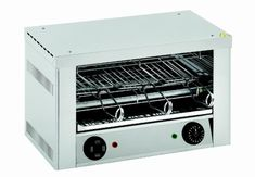 Toaster, MAYWAY, TO-930 H inkl. 3 Toastzangen, Timer 0-15 min. mit 4 Stk. Quarzröhren-Heizkörper, kein Vorheizen notwendig, mit Leistungsregelung Anschlussw.: 230 V / 2 kW Abm.: 45,3 x 25 x 29 cm (BxTxH) Toaster, Oven, Pizza, Kitchen Appliances, Snacks, Cooking Ware, Home Appliances, Toasters, Kitchen Gadgets